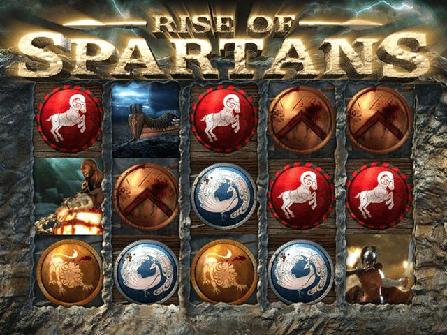 Играть в онлайн игровой автомат Rise Of Spartans